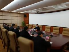 2020年2月25日,副市长杜海洋到市经信局调研。